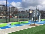 landscape turf playground for a park